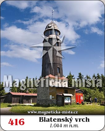 Magnetka - Blatenský vrch