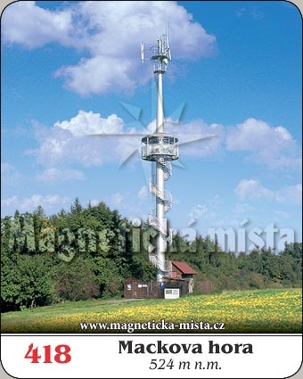 Magnetka - Mackova hora