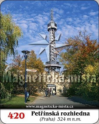 Magnetka - Petřínská rozhledna
