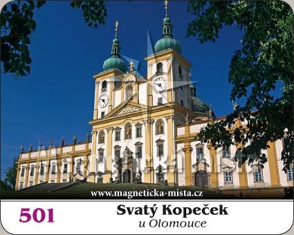 Magnetka - Svatý Kopeček u Olomouce
