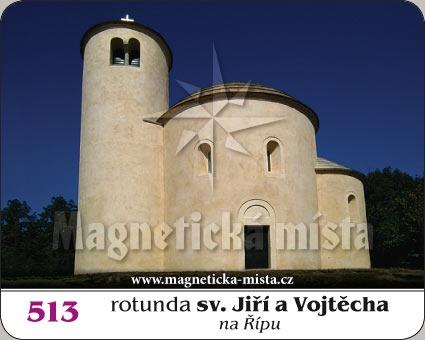 Magnetka - Rotunda sv. Jiří a Vojtěcha na Řípu