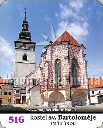 Magnetka - Kostel sv. Bartoloměje (Pelhřimov)
