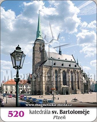 Magnetka - Katedrála sv. Bartoloměje