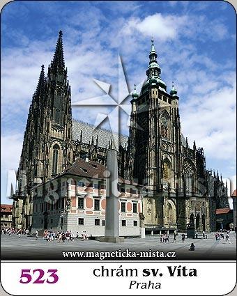 Magnetka - Chrám sv. Víta (Praha)