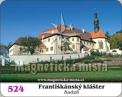 Magnetka - Františkánský klášter Kadaň