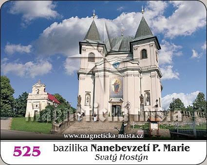 Magnetka - Bazilika Nanebevzetí P.Marie (Svatý Hostýn)