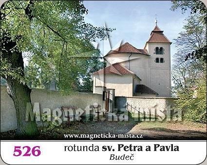 Magnetka - Rotunda sv. Petra a Pavla (Budeč)