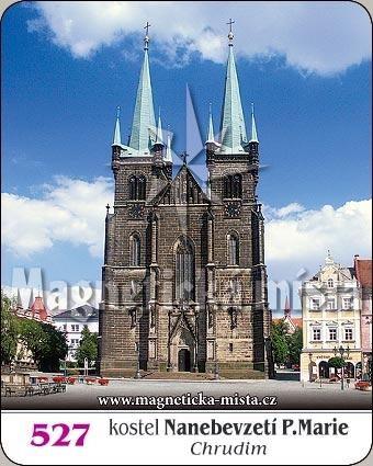 Magnetka - Kostel Nanebevzetí Panny Marie - Chrudim