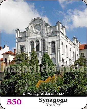 Magnetka - Synagoga (Hranice)