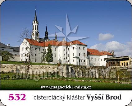 Magnetka - Cisterciácký klášter Vyšší Brod