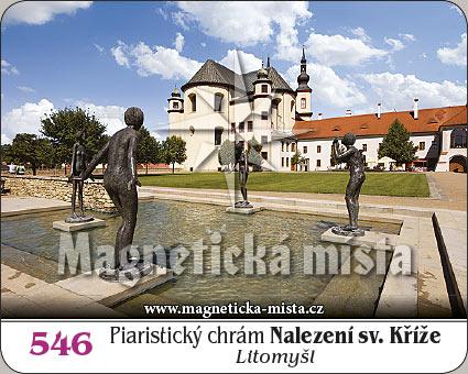 Magnetka - Piaristický chrám Nalezení sv. Kříže