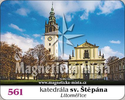 Magnetka - Katedrála sv. Štěpána (Litoměřice)