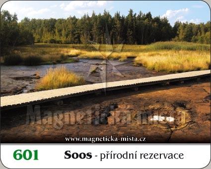 Magnetka - Přírodní rezervace SOOS