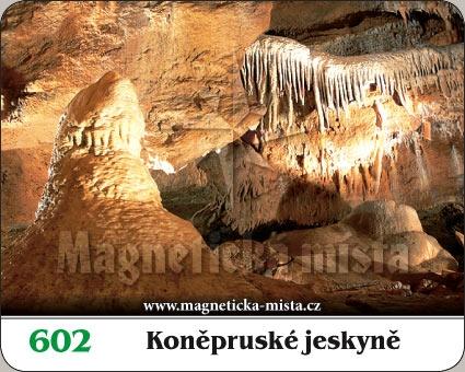 Magnetka - Koněpruské jeskyně