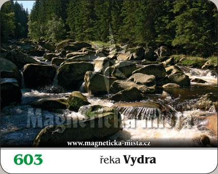 Magnetka - Řeka Vydra
