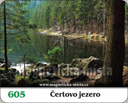 Magnetka - Čertovo jezero