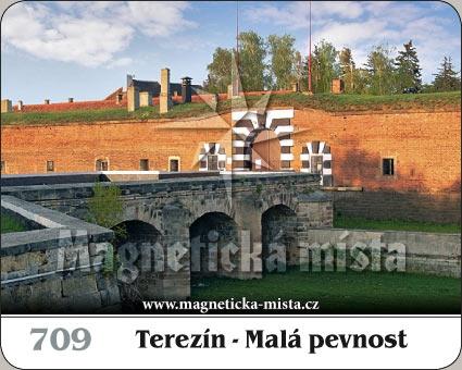 Magnetka - Terezín - Malá pevnost