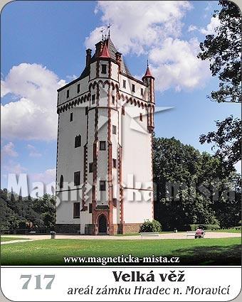 Magnetka - Velká věž - Hradec nad Moravicí