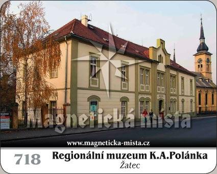 Magnetka - Regionální muzeum K.A.Polánka Žatec