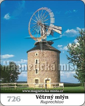 Magnetka - Větrný mlýn Ruprechtov