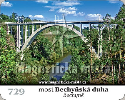 Magnetka - Most Bechyňská duha