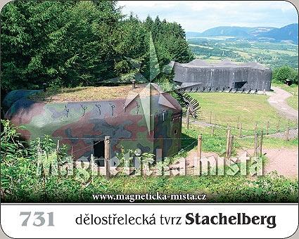 Magnetka - Dělostřelecká tvrz Stachelberg