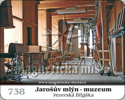 Magnetka - Jarošův mlýn