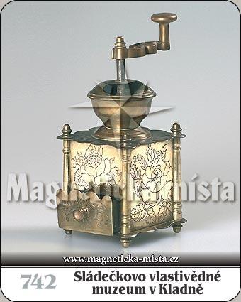 Magnetka - Sládečkovo vlastivědné muzeum v Kladně