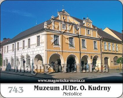 Magnetka - Muzeum JUDr. O. Kudrny (Netolice)