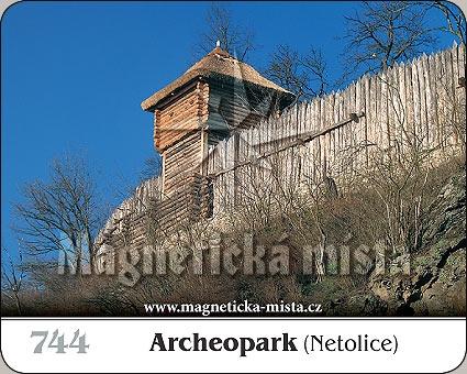 Magnetka - Archeopark (Netolice)