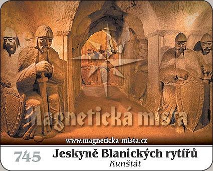 Magnetka - Jeskyně Blanických rytířů