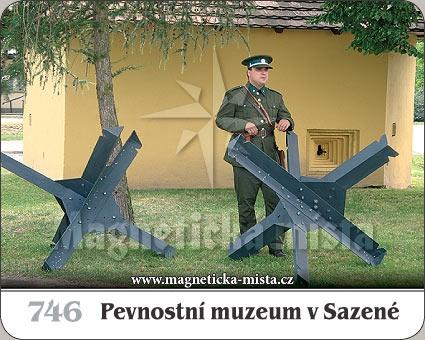 Magnetka - Pevnostní muzeum v Sazené