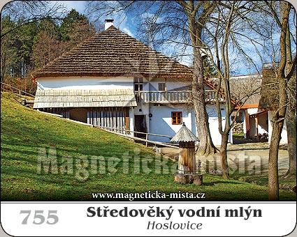 Magnetka - Středověký vodní mlýn Hoslovice