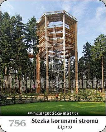 Magnetka - Stezka korunami stromů - Lipno