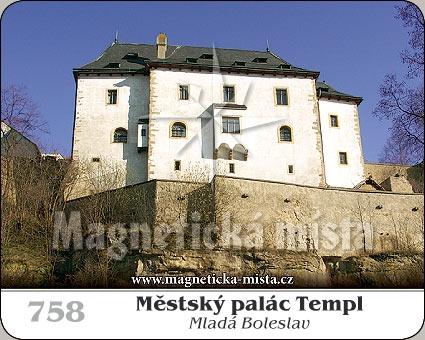Magnetka - Městský palác Templ