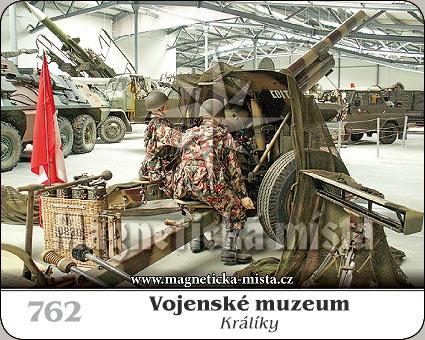 Magnetka - Vojenské muzeum Králíky