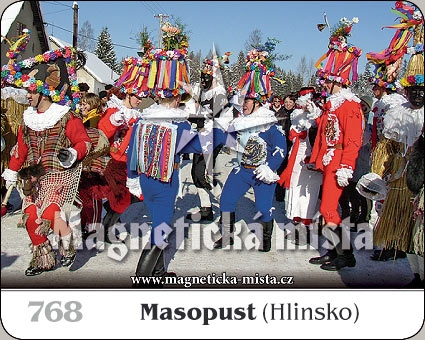 Magnetka - Masopust (Hlinsko)