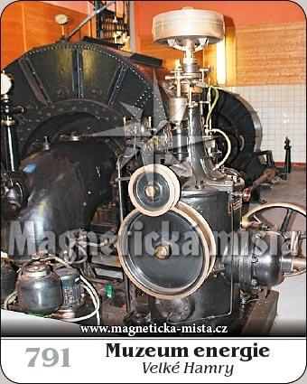 Magnetka - Muzeum energie