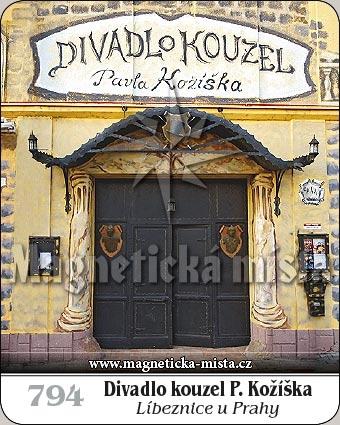 Magnetka - Divadlo kouzel P. Kožíška