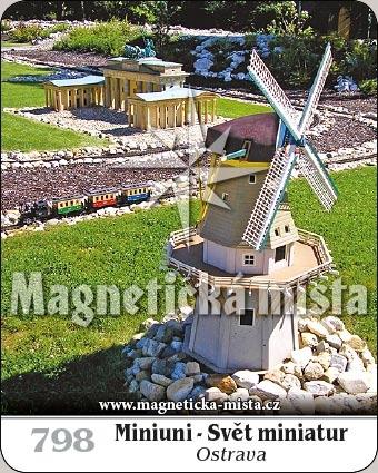 Magnetka - Miniuni - Svět miniatur