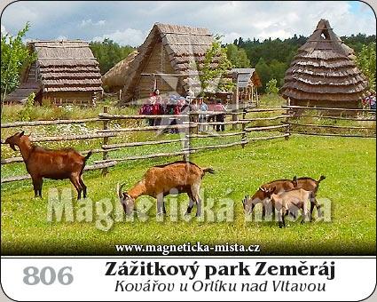 Magnetka - Zážitkový park Zeměráj
