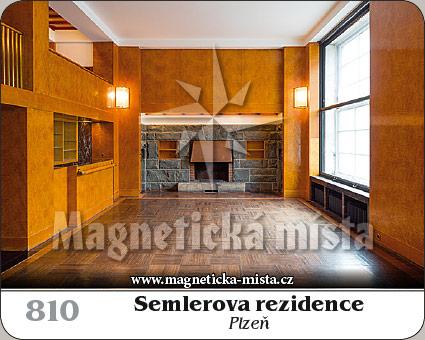 Magnetka - Semlerova rezidence (Plzeň)