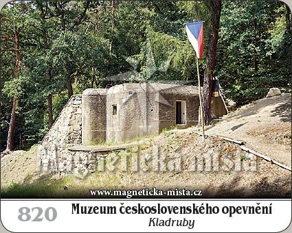 Magnetka - Muzeum československého opevnění Kladruby
