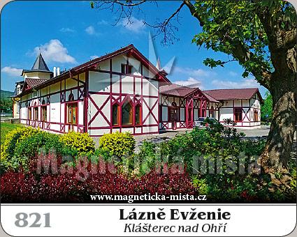 Magnetka - Lázně Evženie (Klášterec nad Ohří)