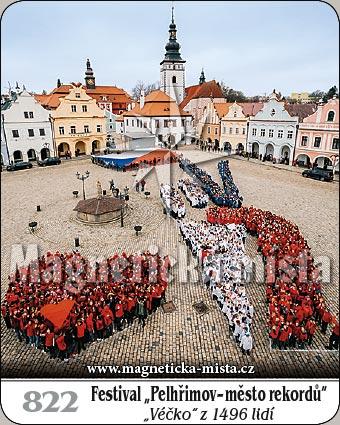 """Magnetka - Festival """"Pelhřimov - město rekordů"""""""