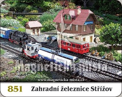Magnetka - Zahradní železnice Střížov