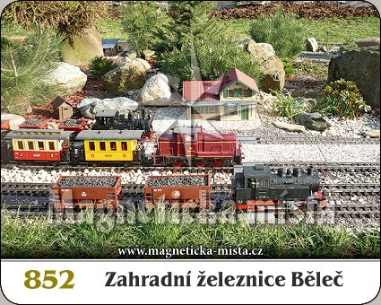 Magnetka - Zahradní železnice Běleč