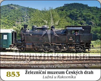 Magnetka - Železniční muzeum ČD (Lužná u Rakovníka)