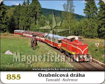 Magnetka - Ozubnicová dráha Tanvald - Kořenov