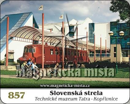 Magnetka - Slovenská strela (Technické muzeum Tatra)